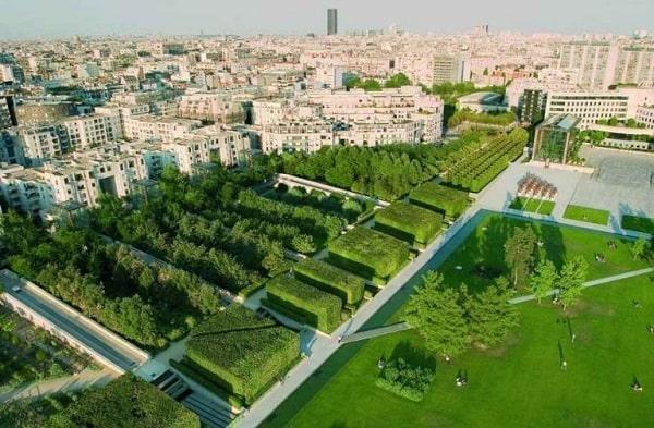 پارک سیتروئن در پاریس
