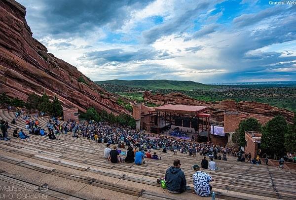 Red Rocks Amphitheatre، گفتمانی در زمینه ، مکان