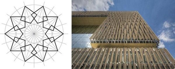 اساس هندسی مثلثی شکل در سازه متحرک
