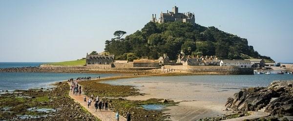 """mount saint Michael"". جزیره ای در فرانسه"