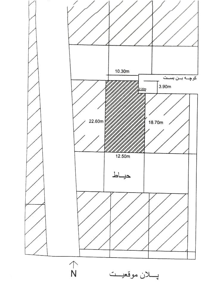 سوال آزمون طراحی معماری نظام مهندسی اردیبهشت 97